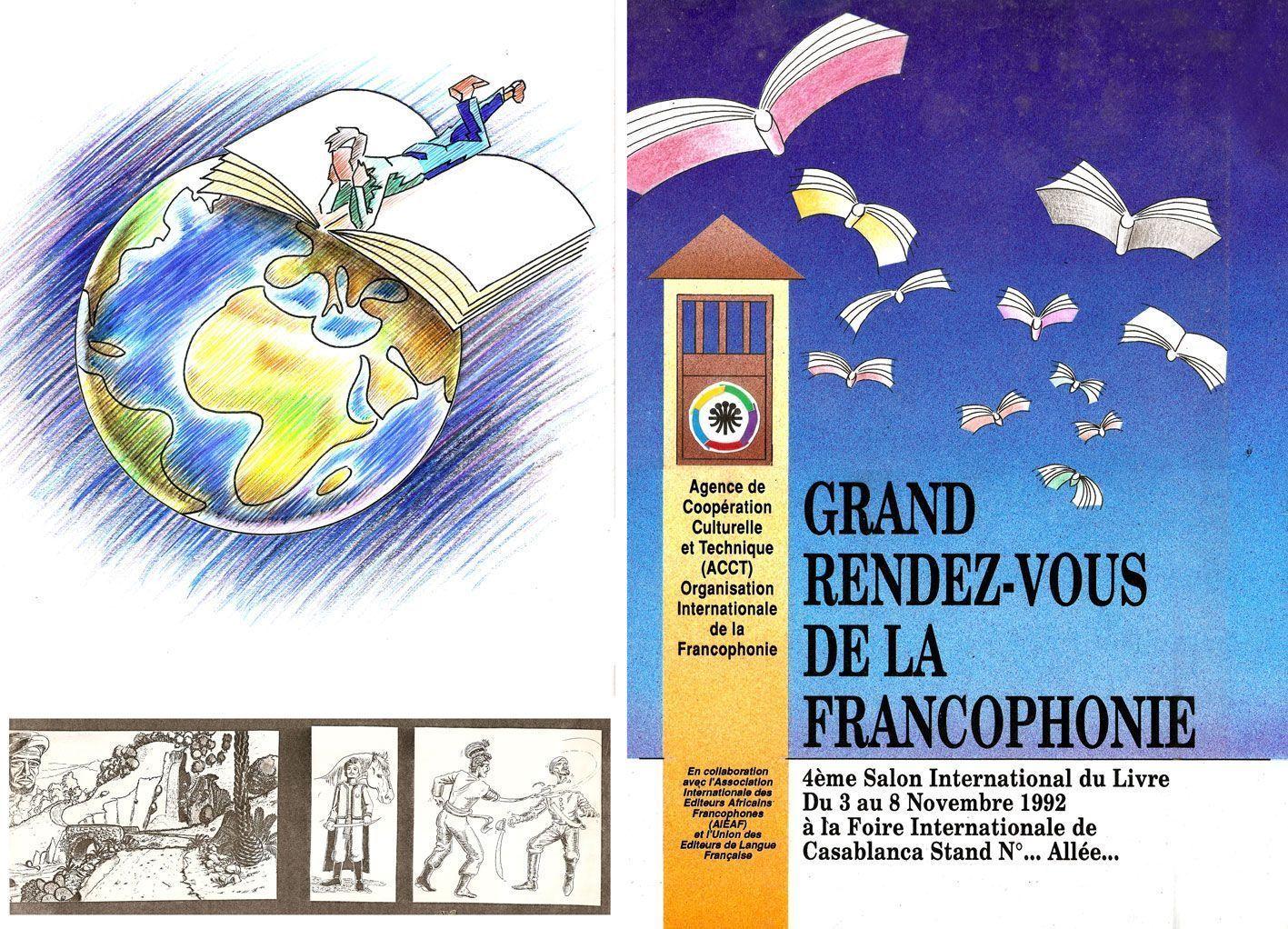 Affiche Et Dessin Monde Livre Plus Personnages Bd Histoire